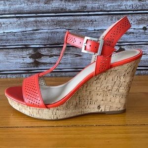 Charles by Charles David Sandal Wedges Size 9